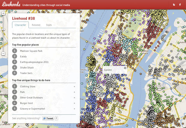 Livehoods Screenshot